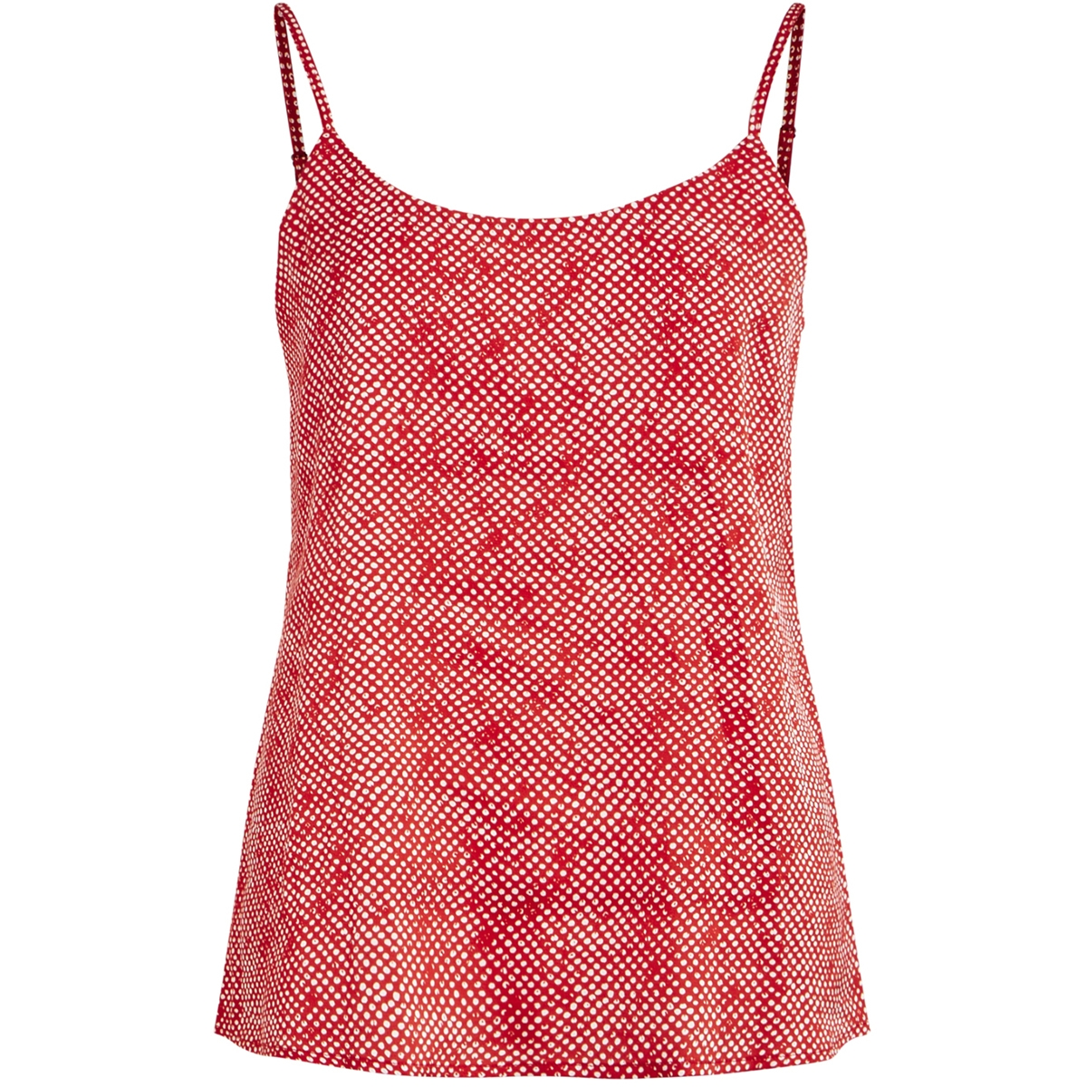 vispotly singlet/l 14056611 vila top scarlet sage