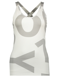 10 Days Top WRAPPER BIG LOGO 20 702 9103 SILVER WHITE