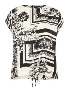 Vero Moda T-shirt VMMIMI SS TOP WVN 10219584 Birch/MIMI AOP
