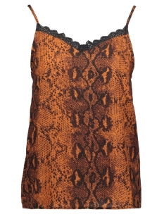 Only Top ONLKATY SINGLET WVN 15186240 Ginger Bread/SNAKE