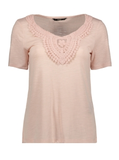 Only T-shirt ONLISA S/S SLEEVE TOP 15187083 Rose Smoke