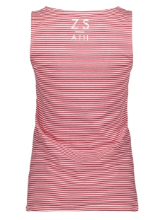 adee striped top 193 zoso top red/white