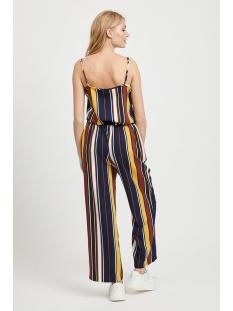 vimatti stripe singlet/l 14055885 vila top navy blazer/mixed stripes