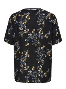 jdyzoey treats s/s rib top wvn 15181127 jacqueline de yong t-shirt black/fall flowe