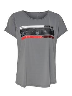 onpaudrey loose ss training tee 15175795 only play sport shirt castlerock