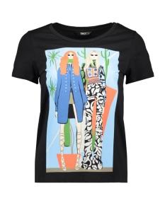 Only T-shirt ONLELLIE S/S T-SHIRT JRS 15199434 Black