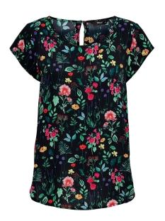 Only T-shirt ONLNOVA LUX AOP  S/S TOP 7 WVN 15187415 Night Sky/NIGHT FLOWER