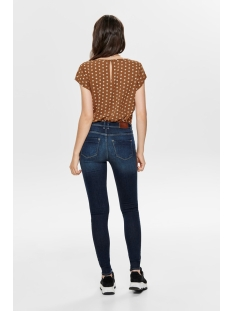 onlnova lux aop  s/s top 7 wvn 15187415 only t-shirt ginger bread/pretty dot