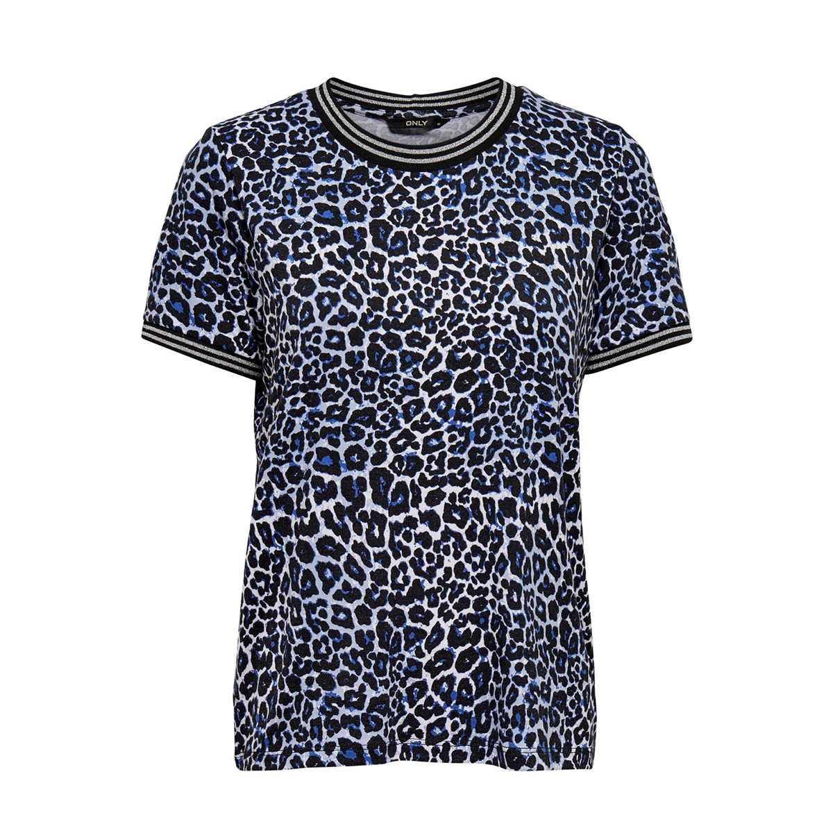 onlsport louisa s/s top jrs 15199798 only t-shirt surf the web/leo