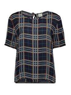 Jacqueline de Yong T-shirt JDYMARLI S/S STRING TOP WVN 15181118 Sky Captain/MULTICOLOR