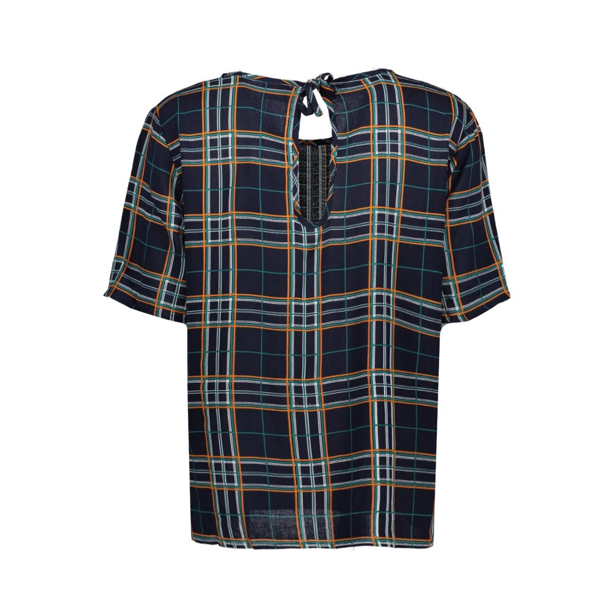 jdymarli s/s string top wvn 15181118 jacqueline de yong t-shirt sky captain/multicolor