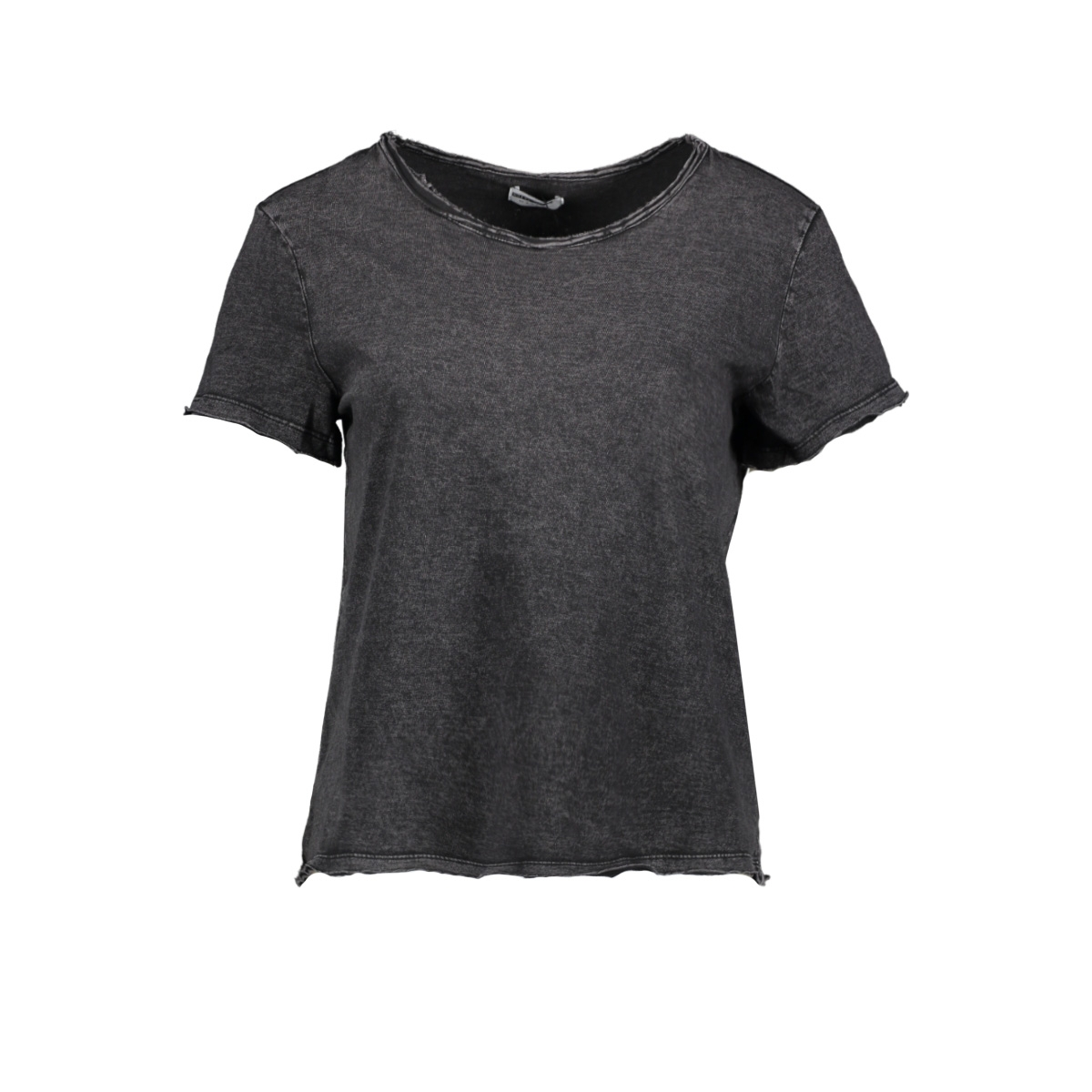 nmnaya nate  s/s washed top noos 27008771 noisy may t-shirt black/washed
