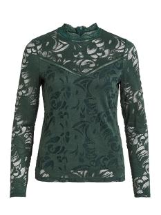 vistasia l/s lace top-noos 14041864 vila blouse pine grove