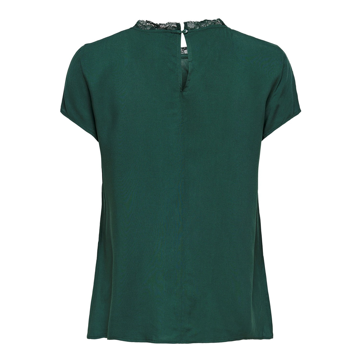 onlfirst ss lace top noos wvn 15191412 only t-shirt green gables