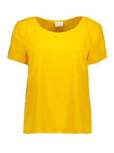 Vila T-shirt VILAIA S/S TOP - FAV 14050338 Golden Rod