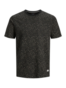 Jack & Jones T-shirt JPRKENTON BLU. TEE SS CREW NECK 12157967 Caviar/SLIM FIT