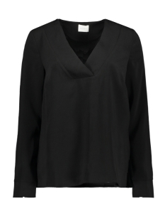 Vila Blouse VILAIA L/S V-NECK TOP - NOOS 14053269 Black