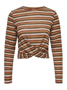 Jacqueline de Yong T-shirt JDYCILLE L/S TOP JRS 15184117 Black/MULTICOLOR