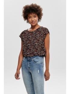 onlvic ss aop top noos wvn 15161116 only t-shirt night sky/ella ditsy