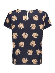 onlvictoria ss first top wvn 15194579 only t-shirt night sky/brown tiger