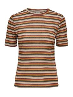 Jacqueline de Yong T-shirt JDYCILLE S/S TOP JRS 15184118 Black/MULTICOLOR
