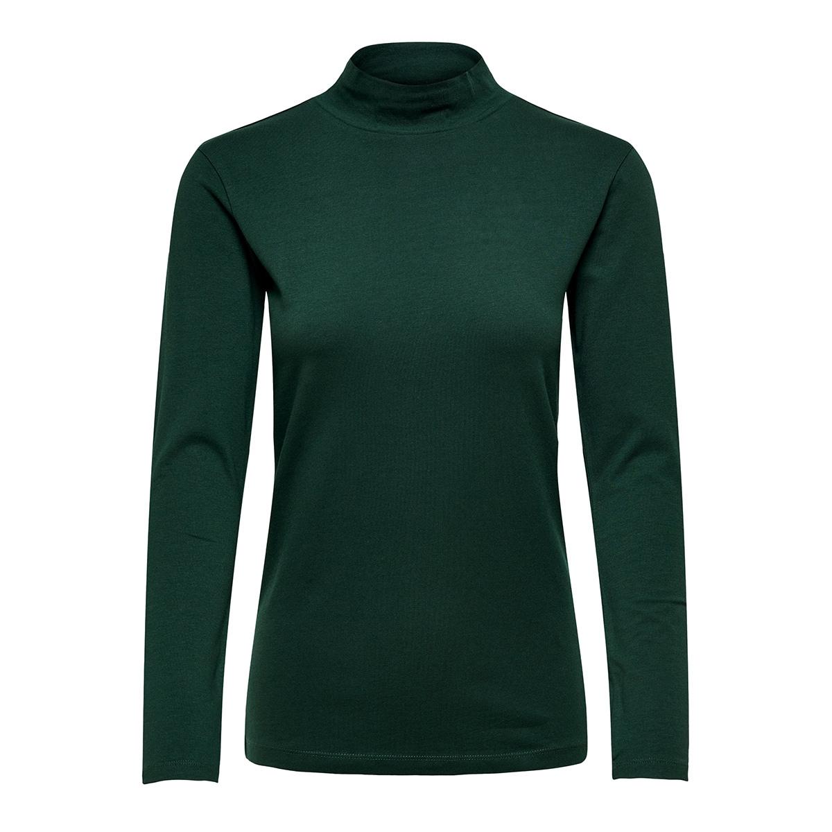 jdyava l/s turtleneck top jrs noos 15165633 jacqueline de yong t-shirt scarab