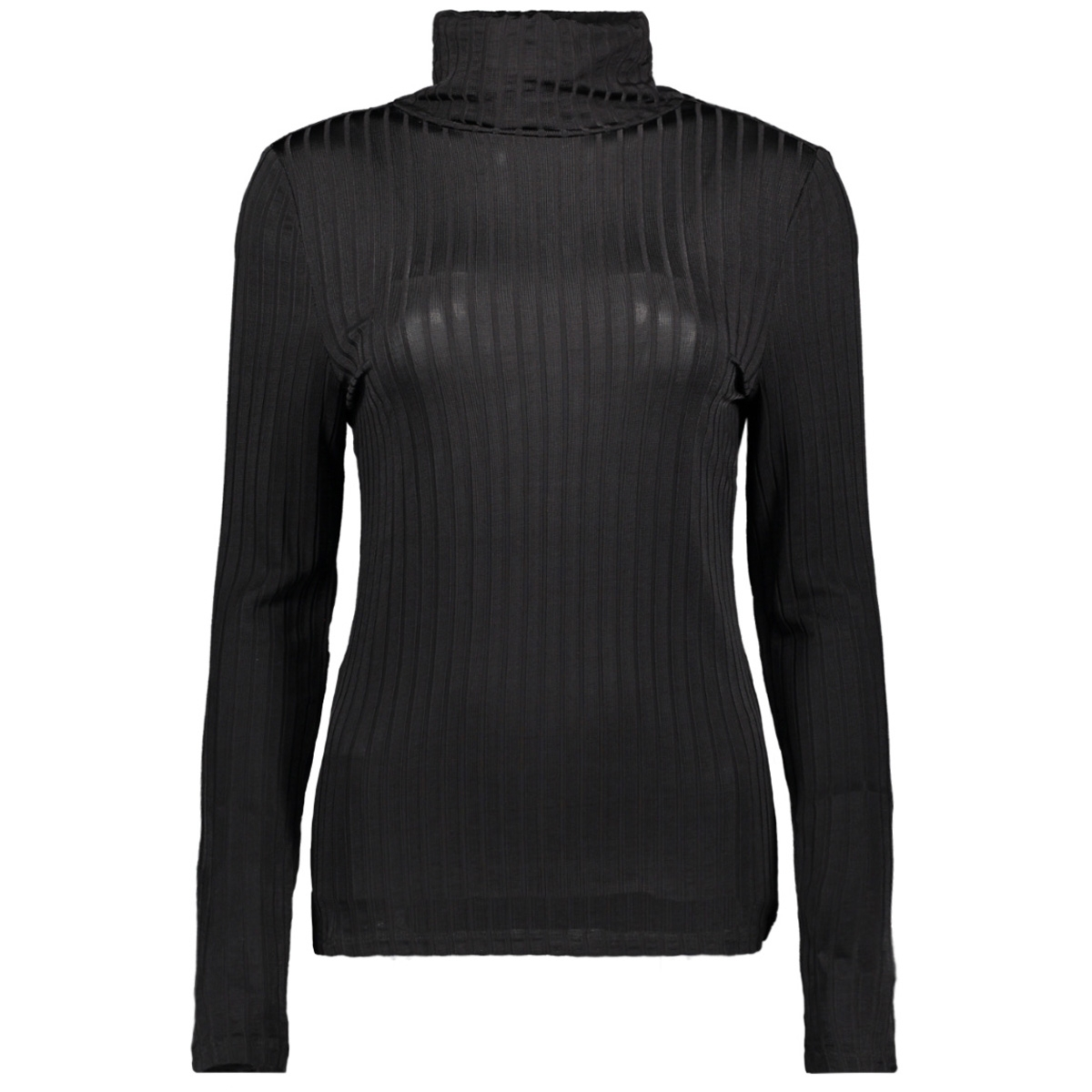 vibenja l/s rollneck t-shirt 14053993 vila t-shirt black