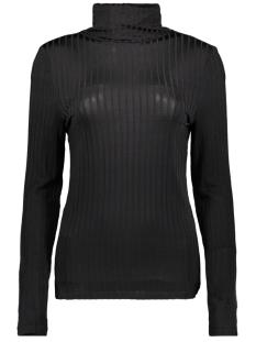 Vila T-shirt VIBENJA L/S ROLLNECK T-SHIRT 14053993 Black