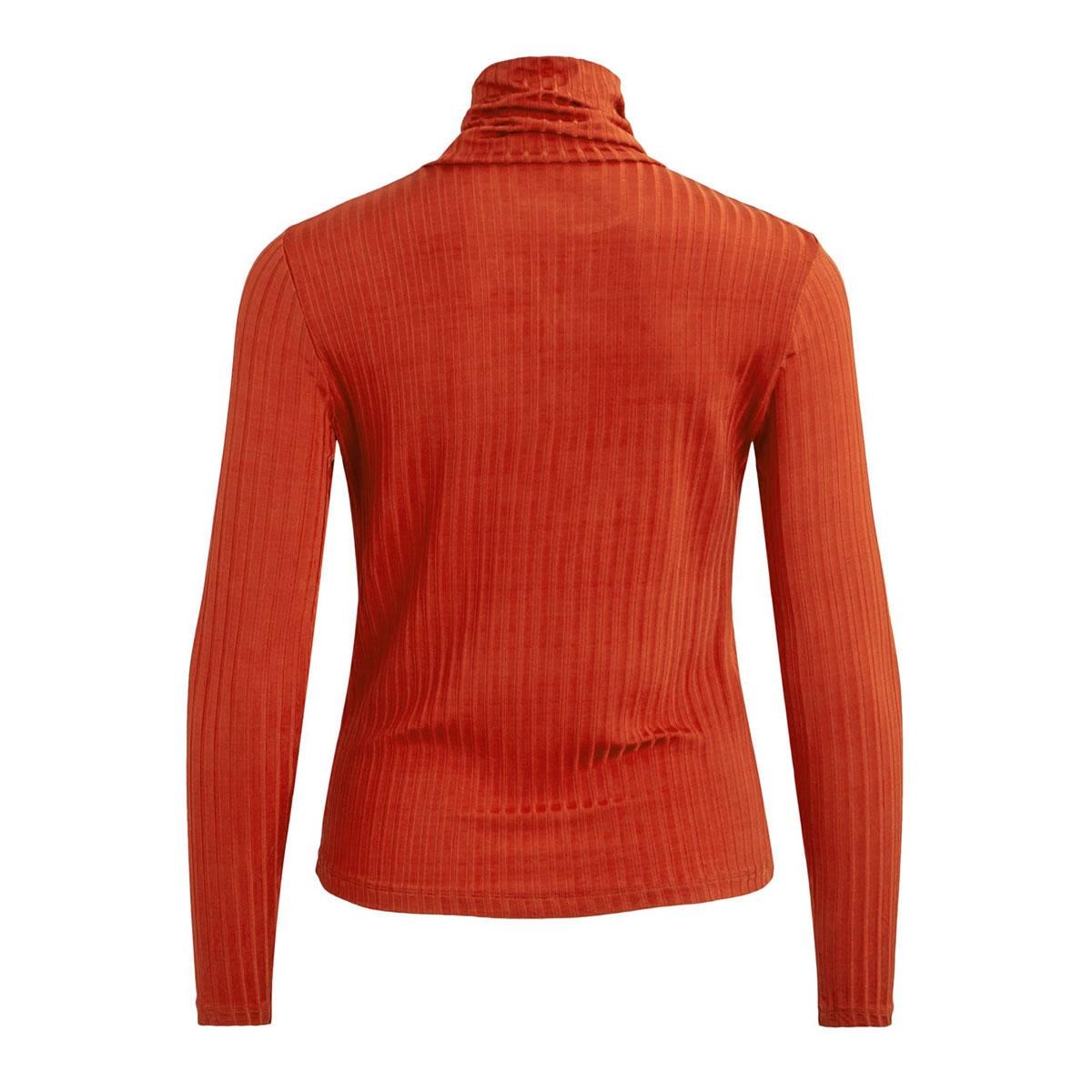 vibenja l/s rollneck t-shirt 14053993 vila t-shirt ketchup