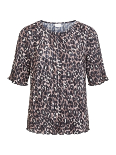 Vila T-shirt VIBLOOMIA LEO PRINT TOP/NLY 14056306 Puce/BLACK LEOPARD