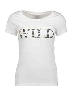 Only T-shirt ONLROAR S/S TOP JRS 15184236 Bright White/WILD NEON