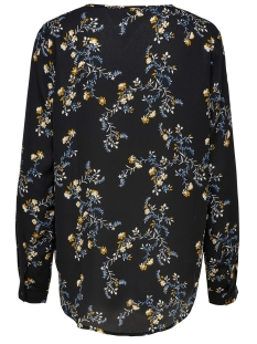 jdyzoey treats l/s v-neck blouse wv 15181124 jacqueline de yong blouse black/fall flower
