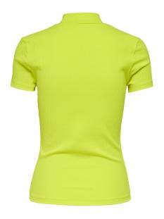 onlnitta s/s mock neck top cs jrs 15194032 only t-shirt neon yellow