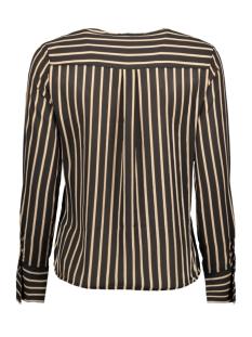 onlpetunia l/s v-neck top wvn 15186559 only blouse black/almondine