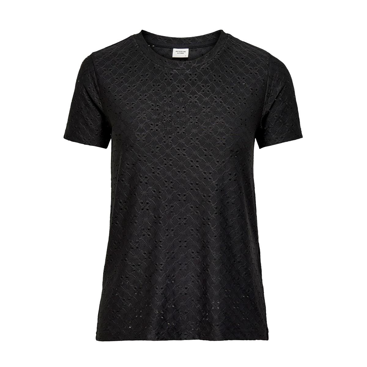 jdycathinka s/s tag top jrs rpt 1 15200907 jacqueline de yong t-shirt black