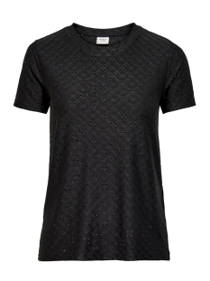Jacqueline de Yong T-shirt JDYCATHINKA S/S TAG TOP JRS RPT 1 15200907 Black