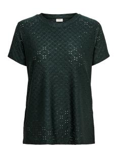 Jacqueline de Yong T-shirt JDYCATHINKA S/S TAG TOP JRS RPT 1 15200907 Scarab