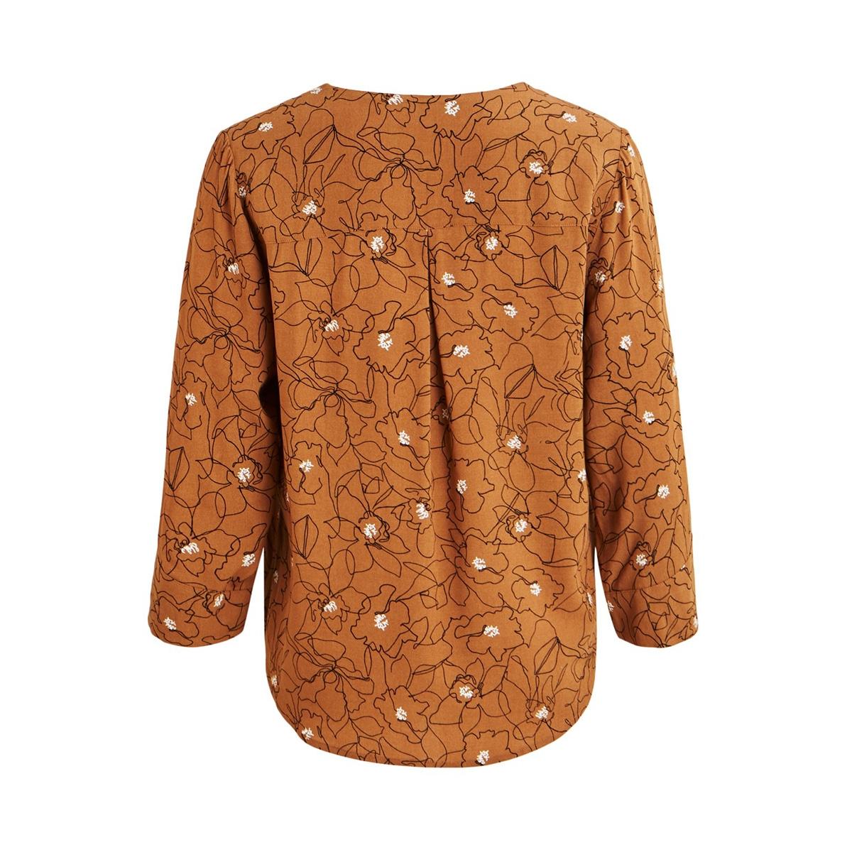 objbay 3/4 top aop seasonal 23028469 object t-shirt chipmunk/graphic fl