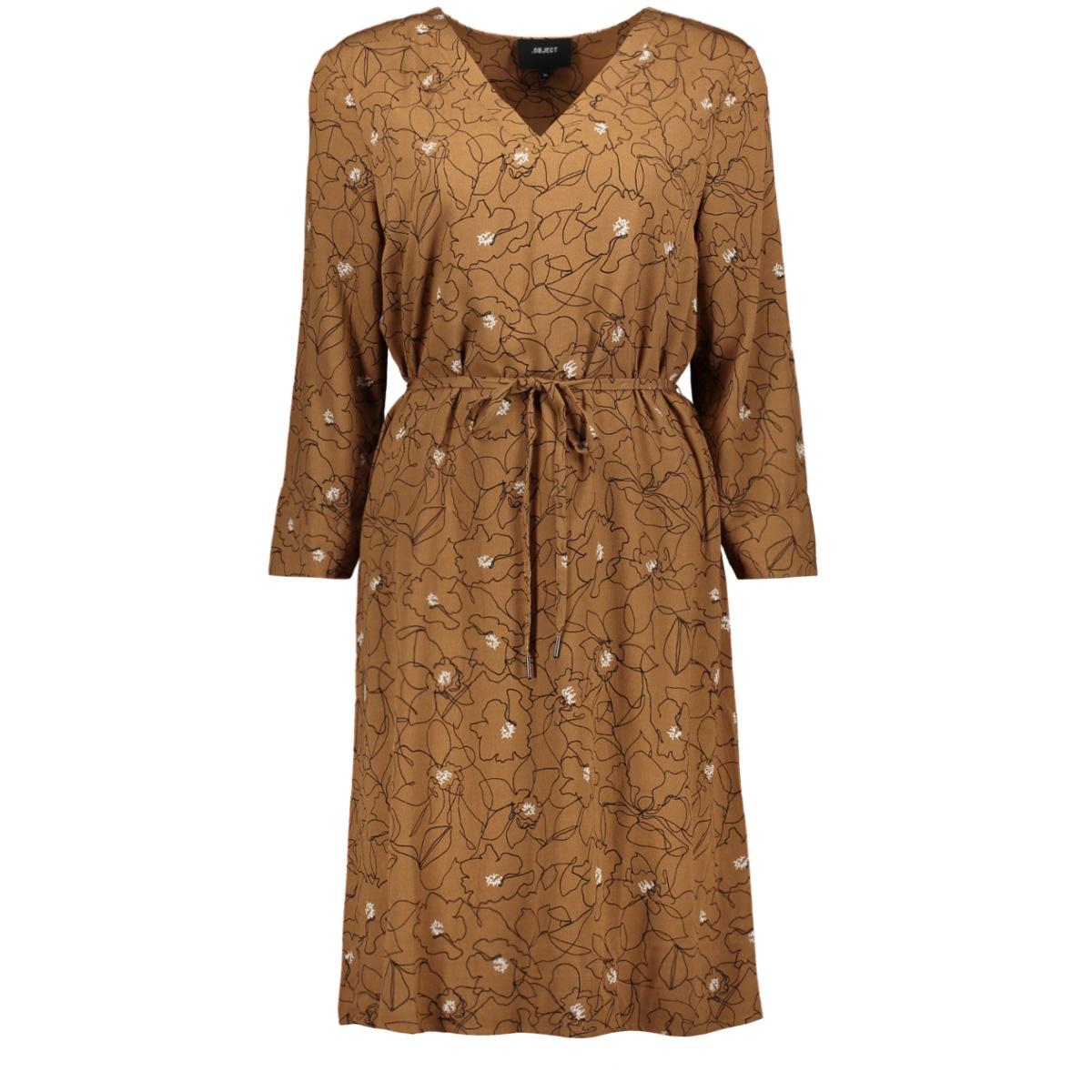 objbay 3/4 dress aop seasonal 23029368 object jurk chipmunk/graphic fl
