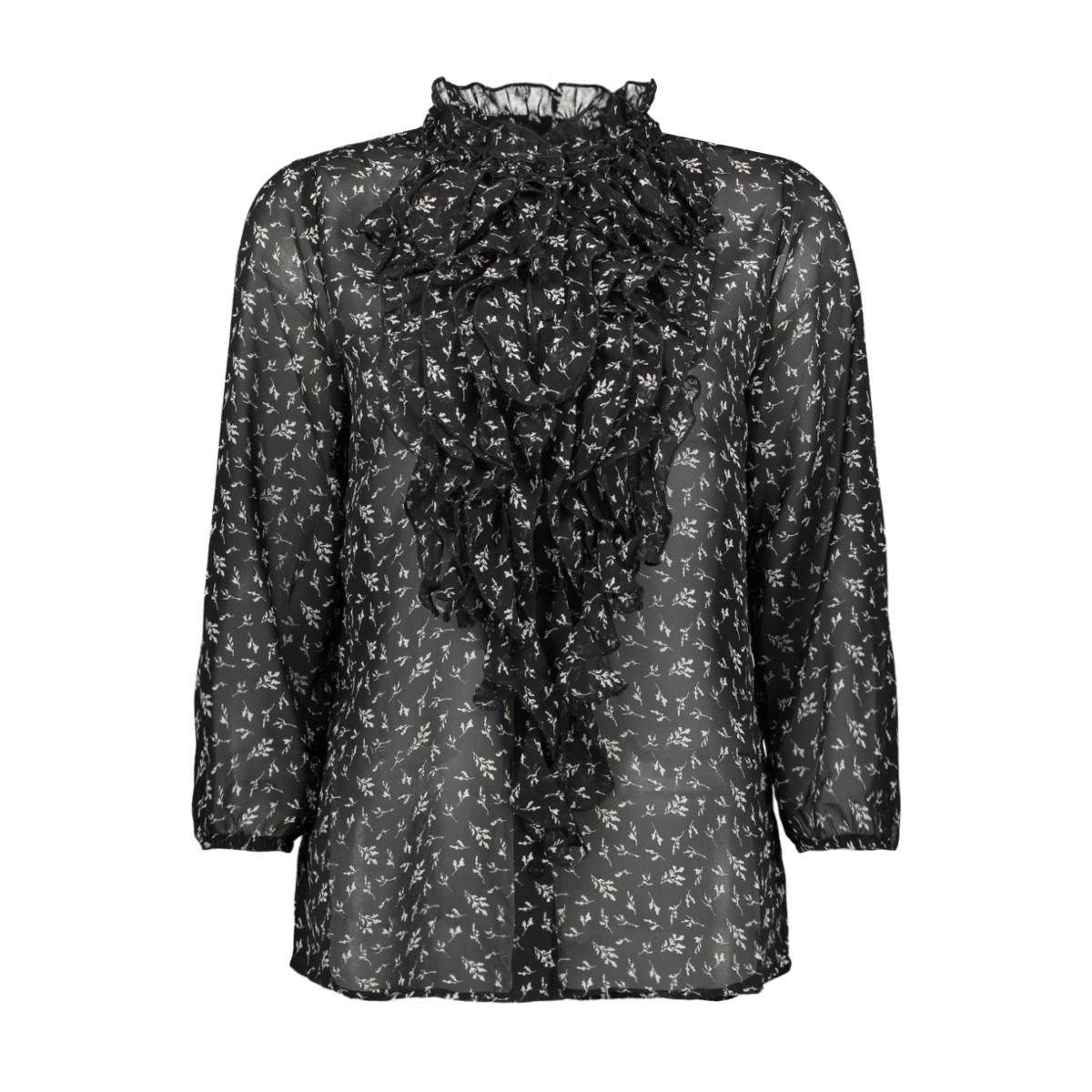 woven top 3/4 sl u1144 saint tropez blouse 0001