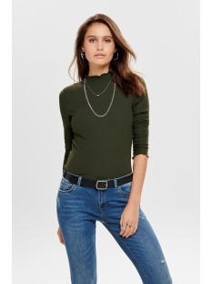 ONLEMMA L/S HIGH NECK TOP NOOS JRS 15180040 Forest Night