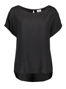 Saint Tropez T-shirt ZWARTE BLOUSE U1045 0001