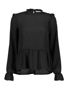 Only Blouse ONLELLA L/S TOP WVN 15186588 Black