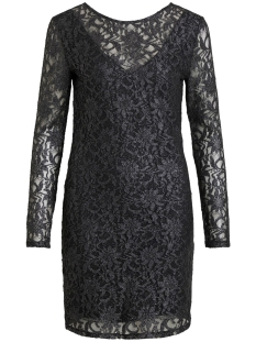 Vila Jurk VIVISTIN L/S DRESS/KI 14054549 Black/W. SILVER