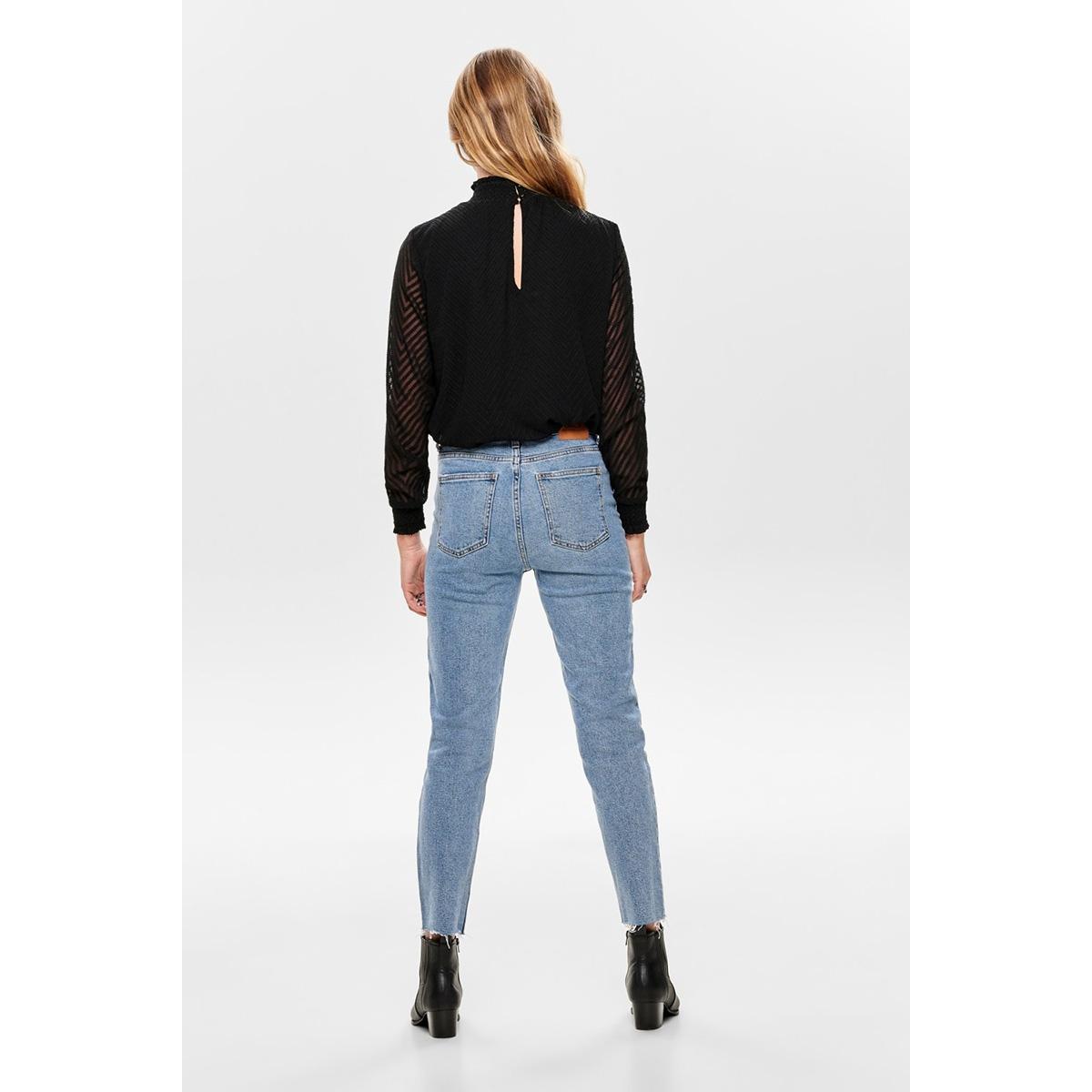 onlnew kayla l/s top noos wvn 15190950 only blouse black
