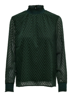 onlnew kayla l/s top noos wvn 15190950 only blouse green gables