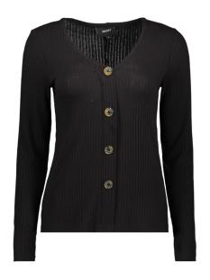 Object T-shirt OBJDEBRA L/S TOP 106 23030711 Black