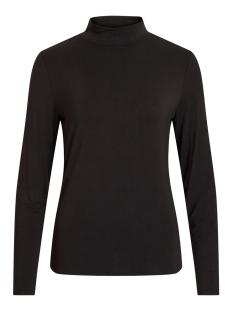 Vila T-shirt VIBULIS ANIMALA FUNNEL NECK L/S T-S 14054491 Black