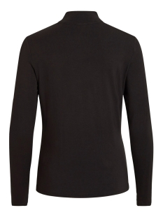 vibulis animala funnel neck l/s t-s 14054491 vila t-shirt black