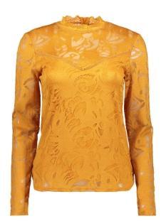 vistasia l/s lace top-fav 14044847 vila blouse golden oak